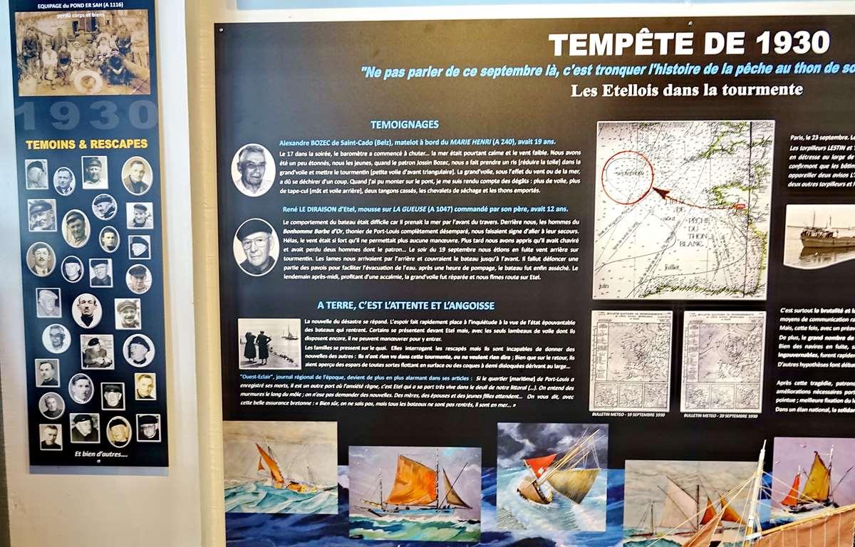 [Vie des ports] Etel d'aujourd'hui et son histoire de la pêche au thon - Page 4 Dsc10549