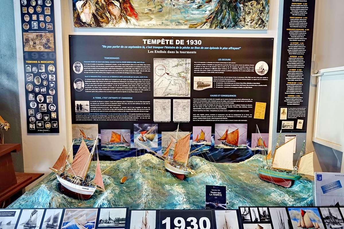 [Vie des ports] Etel d'aujourd'hui et son histoire de la pêche au thon - Page 4 Dsc10550