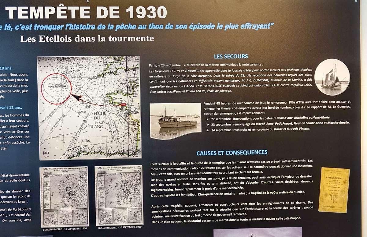 [Vie des ports] Etel d'aujourd'hui et son histoire de la pêche au thon - Page 4 Dsc10551