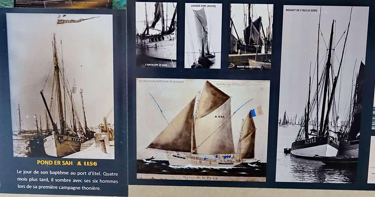 [Vie des ports] Etel d'aujourd'hui et son histoire de la pêche au thon - Page 4 Dsc10555