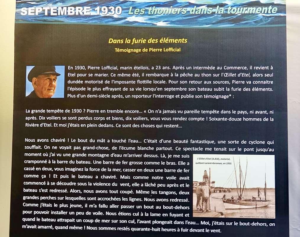 [Vie des ports] Etel d'aujourd'hui et son histoire de la pêche au thon - Page 4 Dsc10564