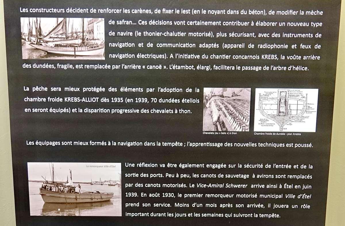 [Vie des ports] Etel d'aujourd'hui et son histoire de la pêche au thon - Page 4 Dsc10647
