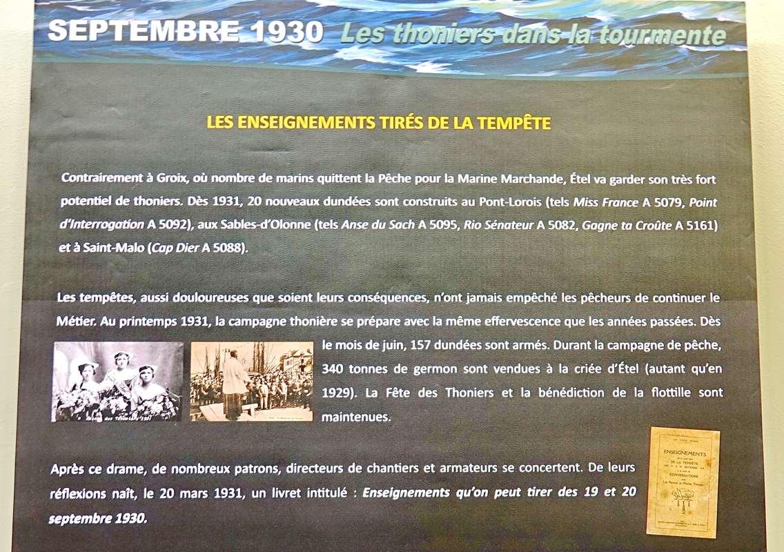 [Vie des ports] Etel d'aujourd'hui et son histoire de la pêche au thon - Page 4 Dsc10648