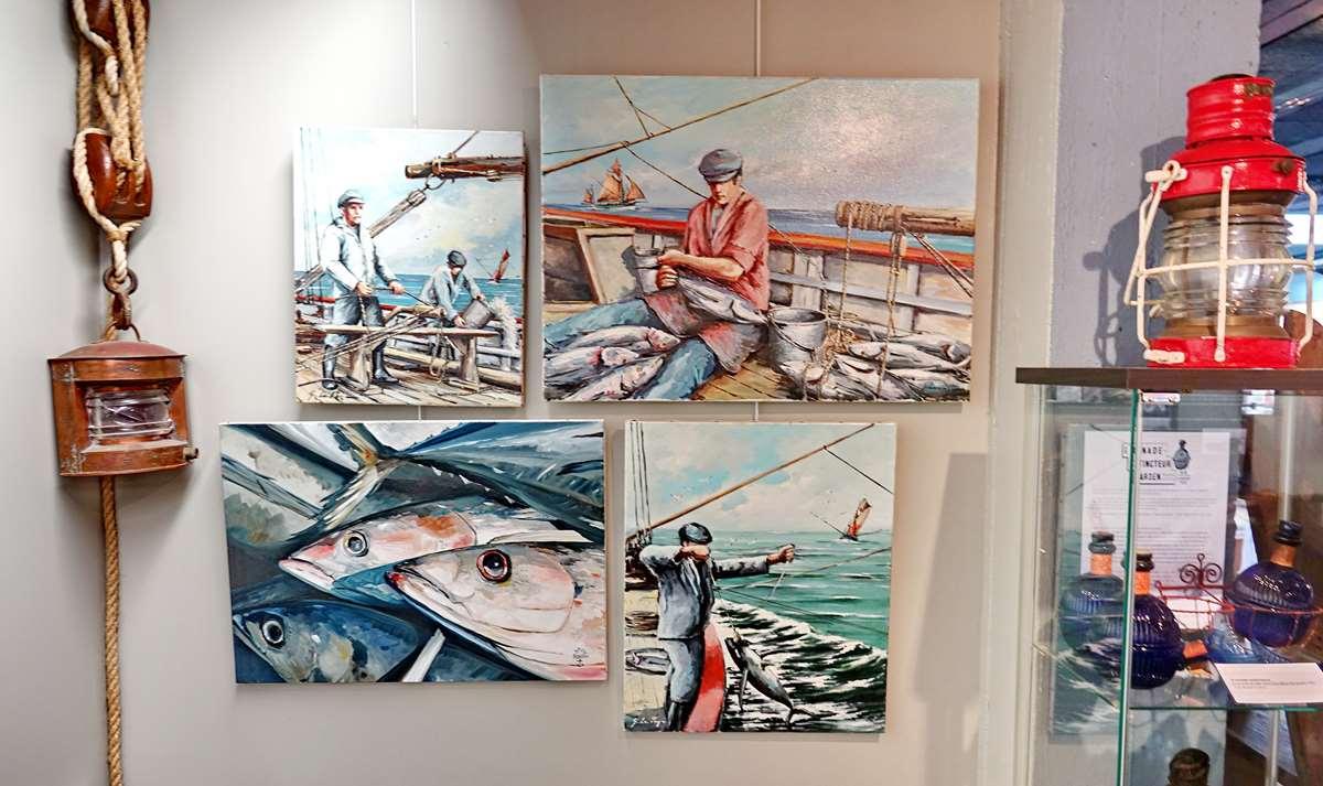[Vie des ports] Etel d'aujourd'hui et son histoire de la pêche au thon - Page 4 Dsc10669