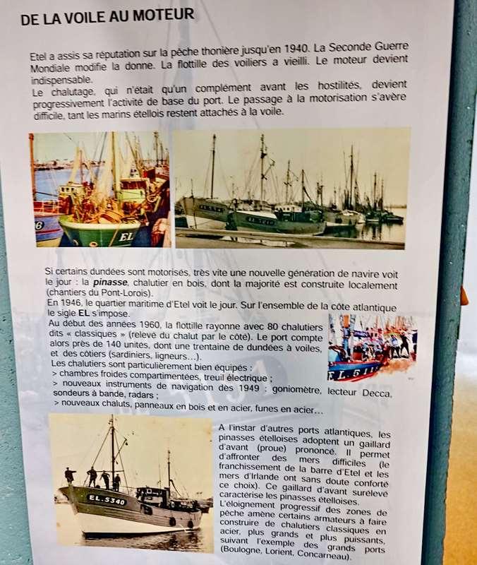 [Vie des ports] Etel d'aujourd'hui et son histoire de la pêche au thon - Page 5 Dsc11300