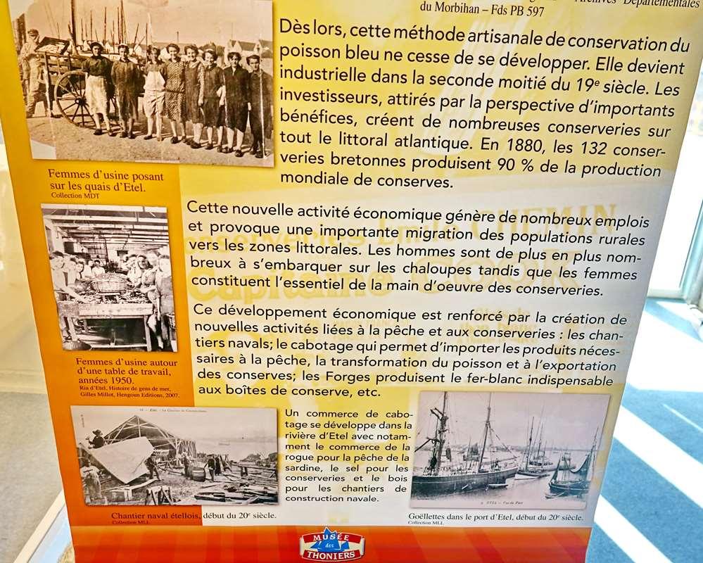 [Vie des ports] Etel d'aujourd'hui et son histoire de la pêche au thon - Page 6 Dsc11508