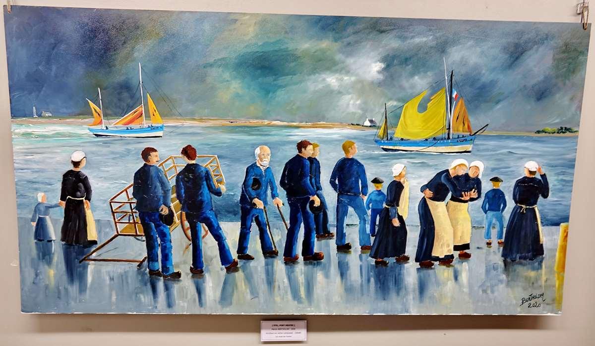 [Vie des ports] Etel d'aujourd'hui et son histoire de la pêche au thon - Page 6 Dsc11563