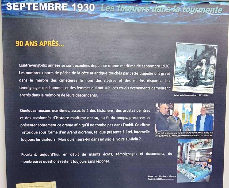 [Vie des ports] Etel d'aujourd'hui et son histoire de la pêche au thon - Page 6 Dsc11574