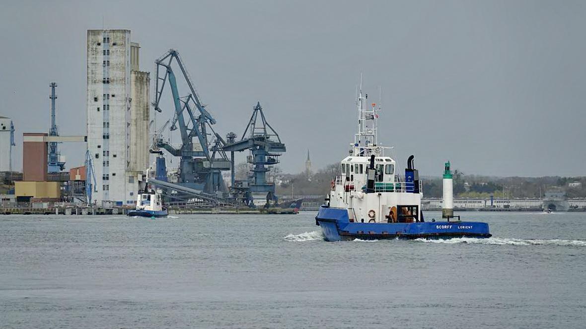 [Les ports militaires de métropole] Port de LORIENT - TOME 1 - Page 24 Dsc18322
