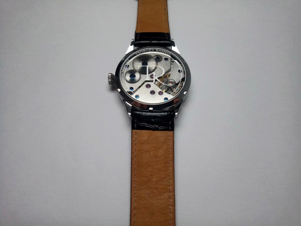 Tsoroev Rashid - handcrafted artisanal watches. 611