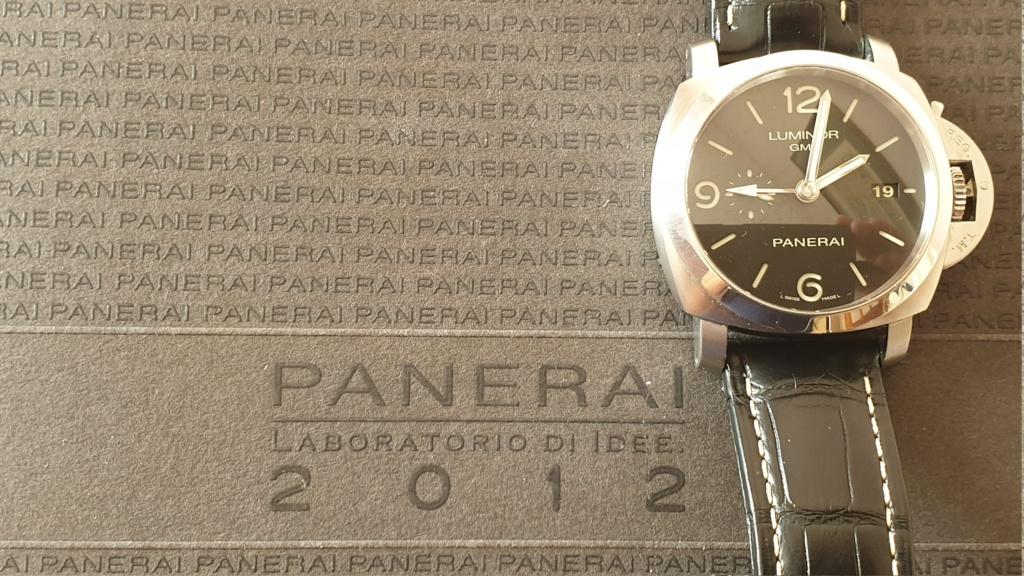 Vends - [Vends] Panerai 320 - GMT année 2012 full set 20200622