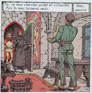 Le procès de Gilles de Rais : erreur de dessin ? Porte10