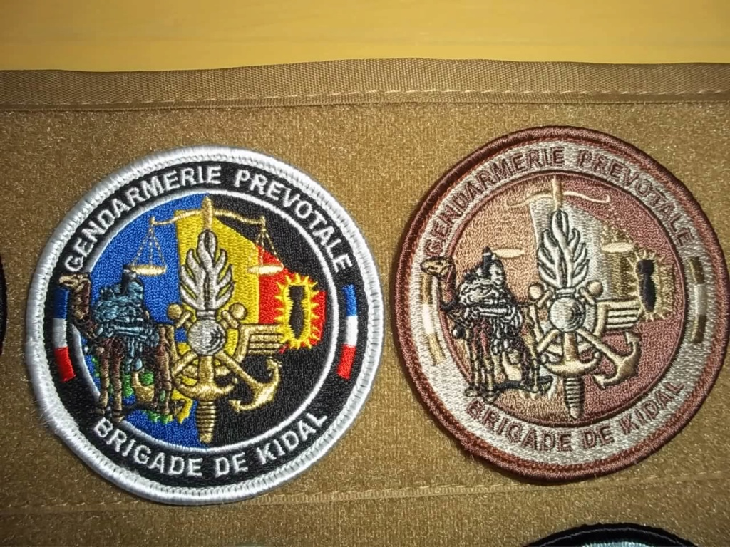 écusson gendarmerie prévôtale Djibouti Przovo13