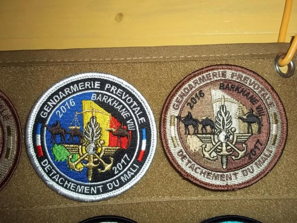 écusson gendarmerie prévôtale Djibouti Przovo14