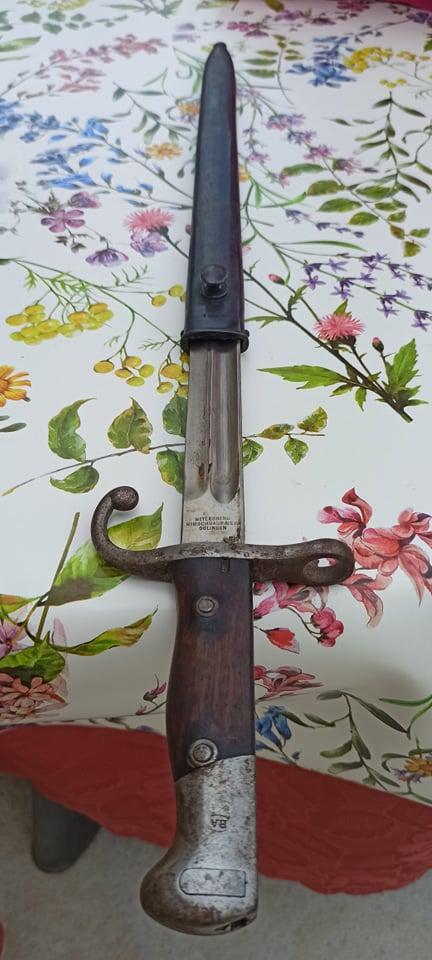 Sabre et épée a identifier 21266410