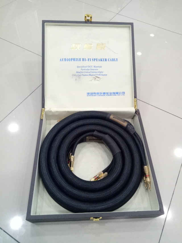 Choseal LA-5101 Speaker Cable 2.5m Img20119