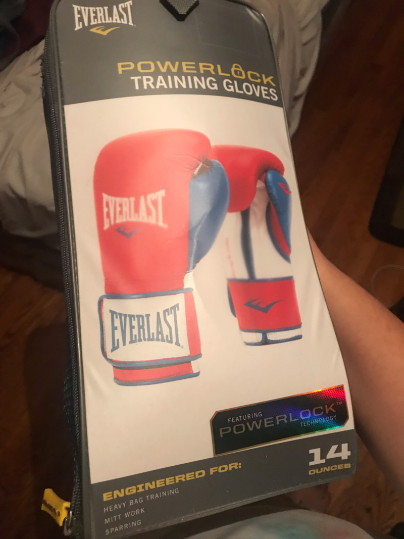 Boxing gloves you use? 15719812