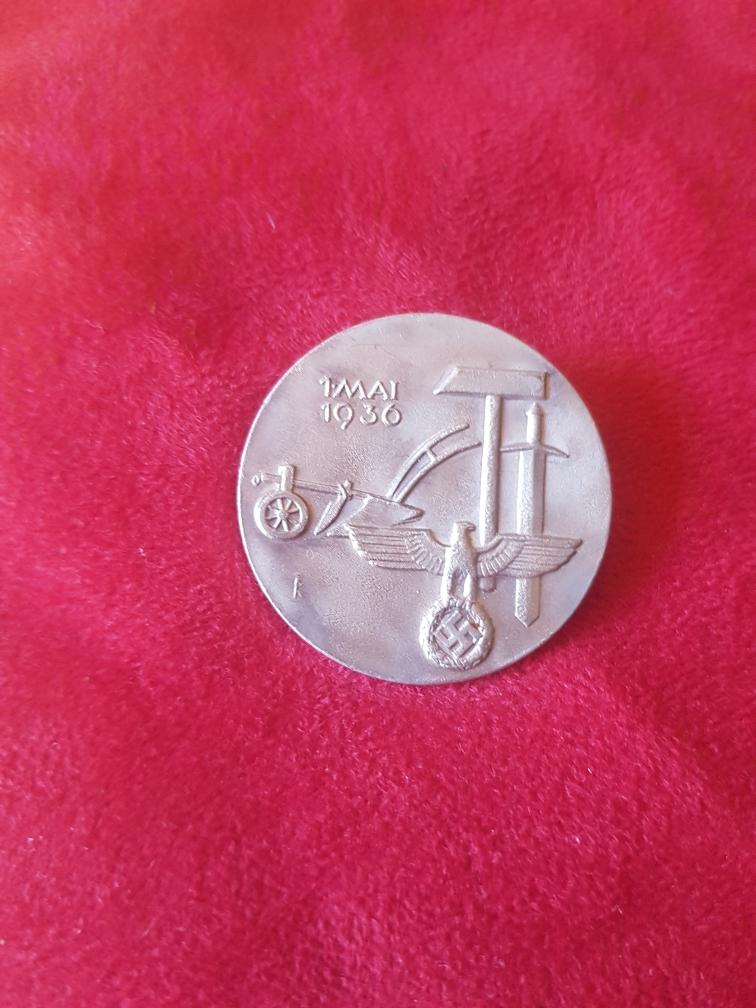 Médailles pour authetification et estimation de valeur 610