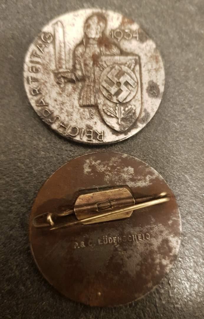 Médailles pour authetification et estimation de valeur 7-210