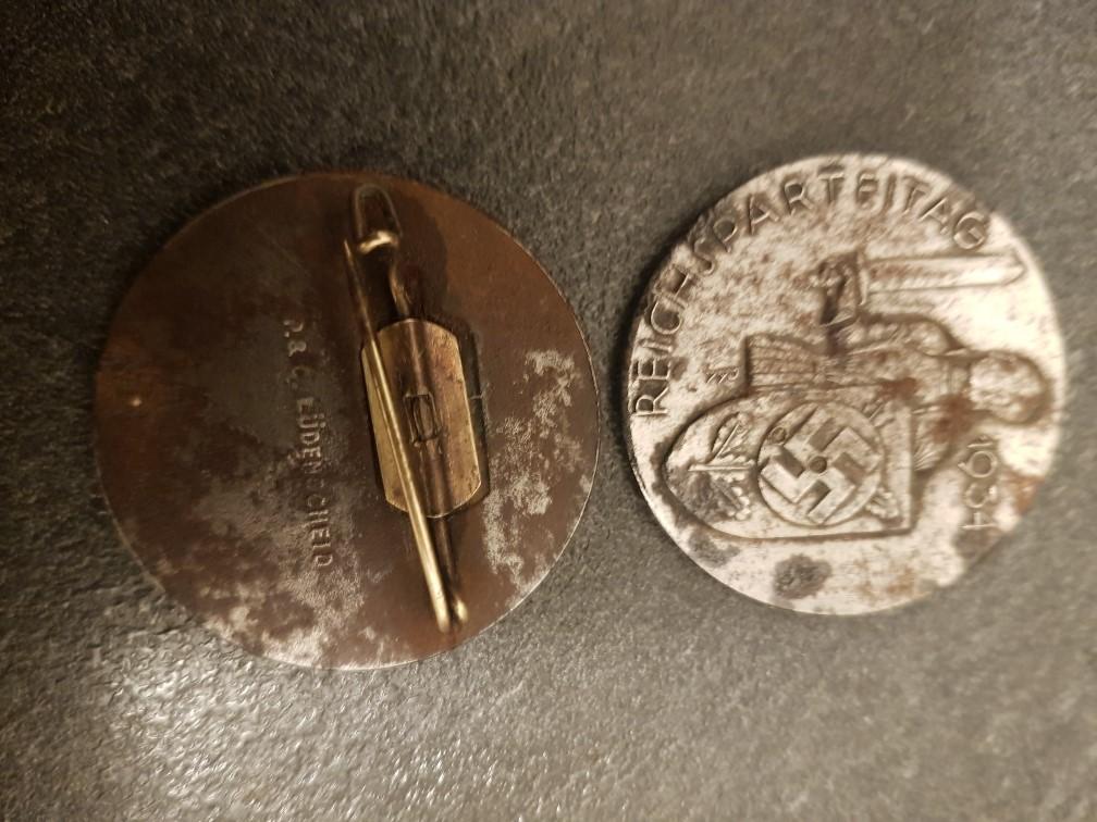 Médailles pour authetification et estimation de valeur 711