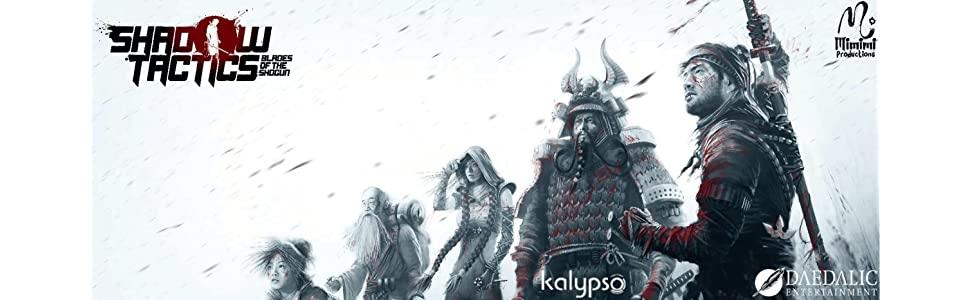 Shadow Tactics: Blades of the Shogun PS4 D9289010
