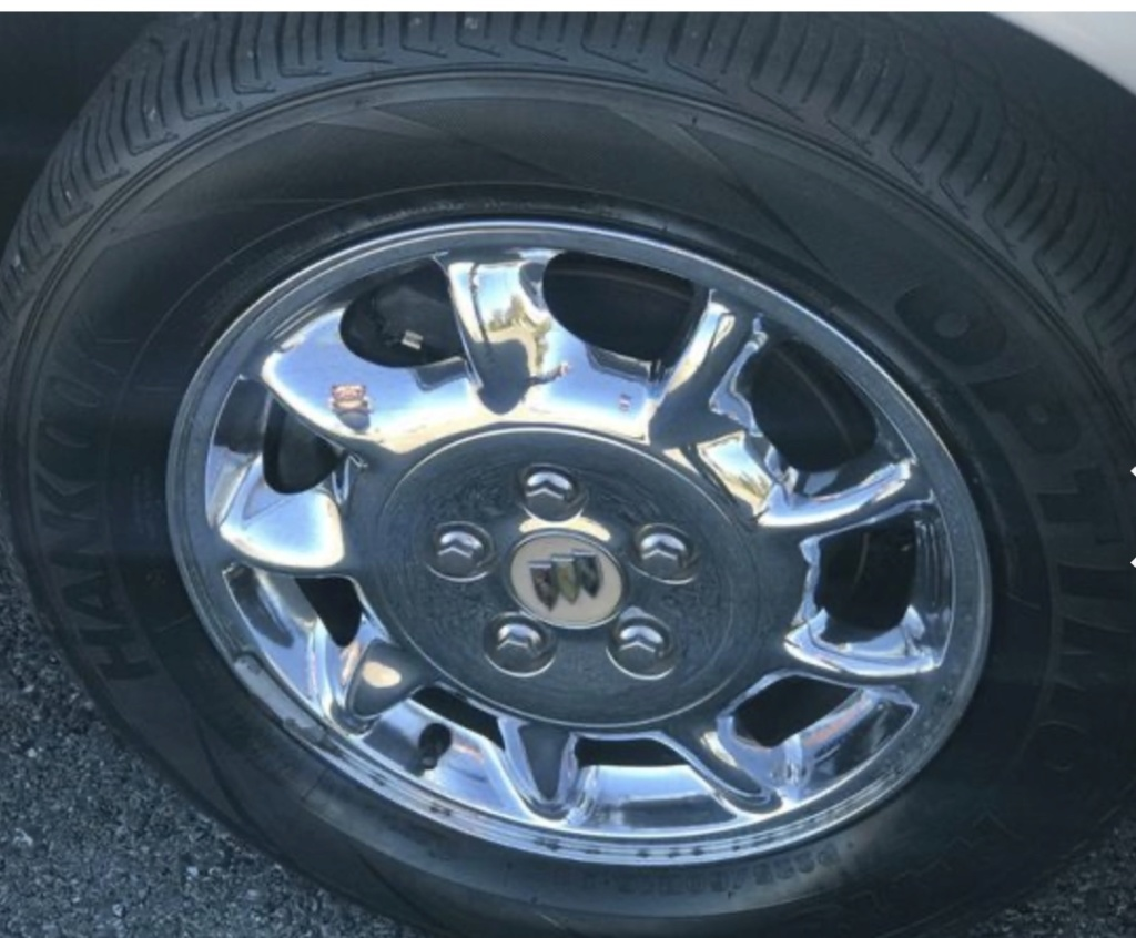 Has anyone put these Park Avenue wheels on their car? Df0a8d10