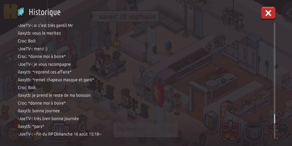[R.] Rapport de RP de -JoeTV- Scree132