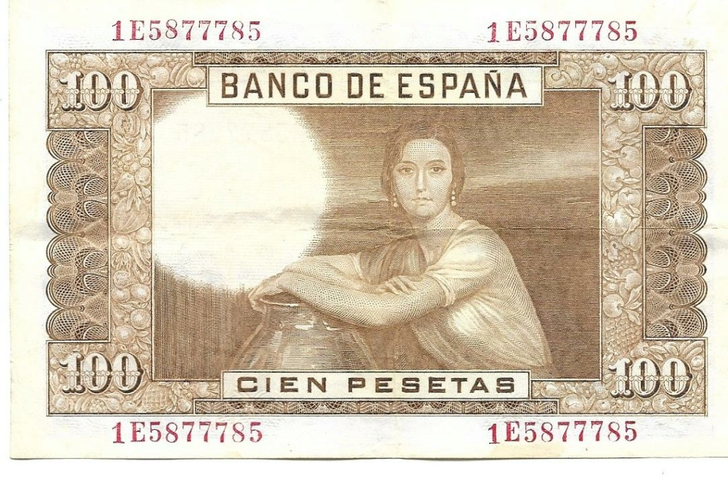100 Pesetas 1953, CAPICÚA 1e587711
