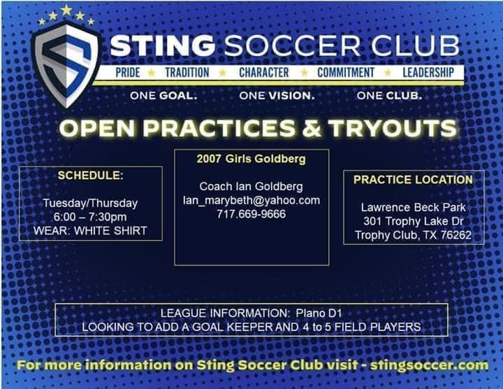 STING 07G OPEN TRAINING- Trophy Club- GK & Field Players 2007g_10