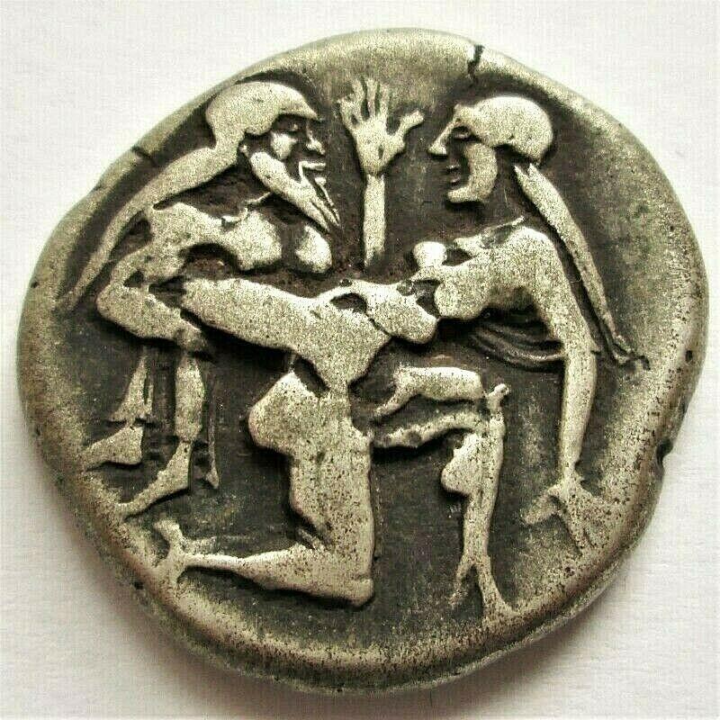 Monedas del Sátiro de Thasos dudosas. N_2_aq11