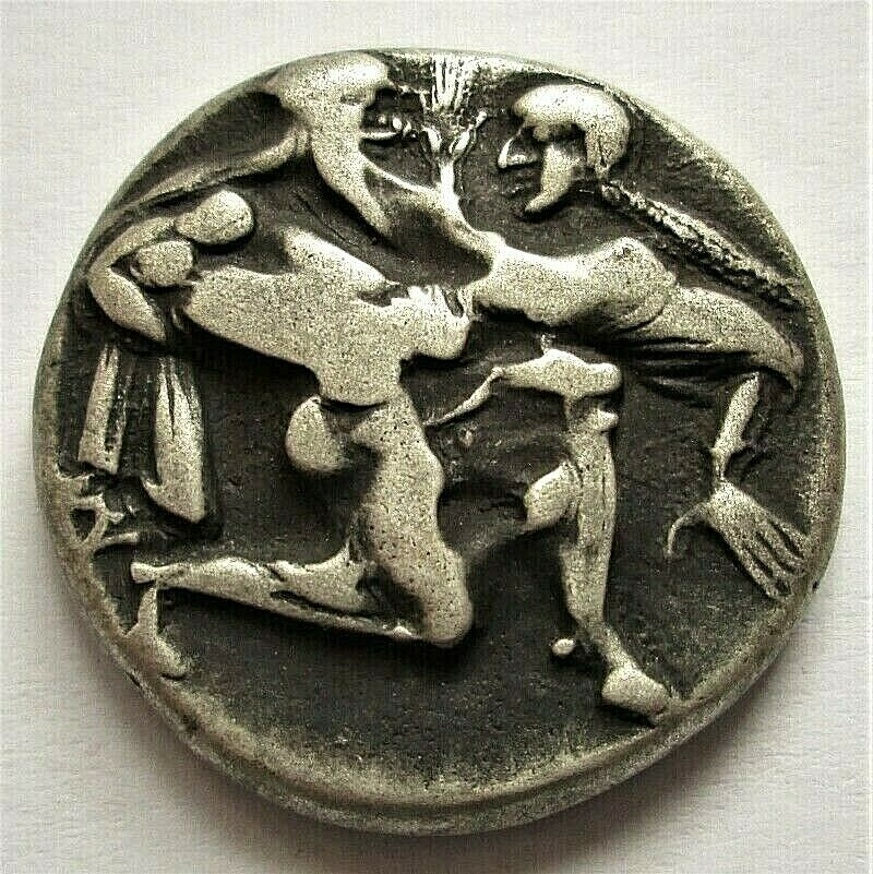 Monedas del Sátiro de Thasos dudosas. N_3_an10