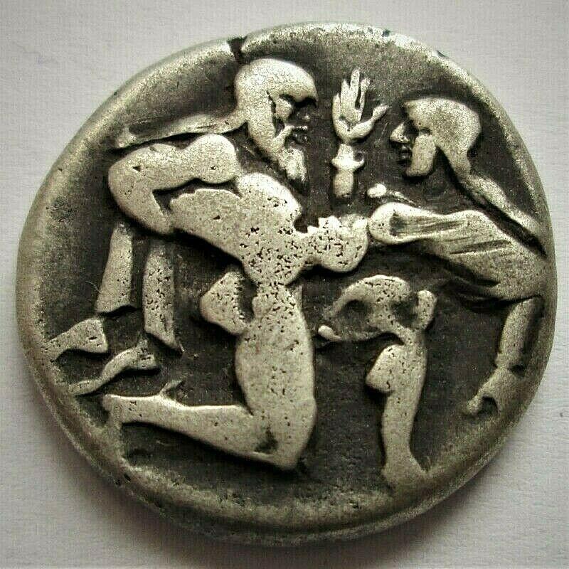 Monedas del Sátiro de Thasos dudosas. N_5_an10