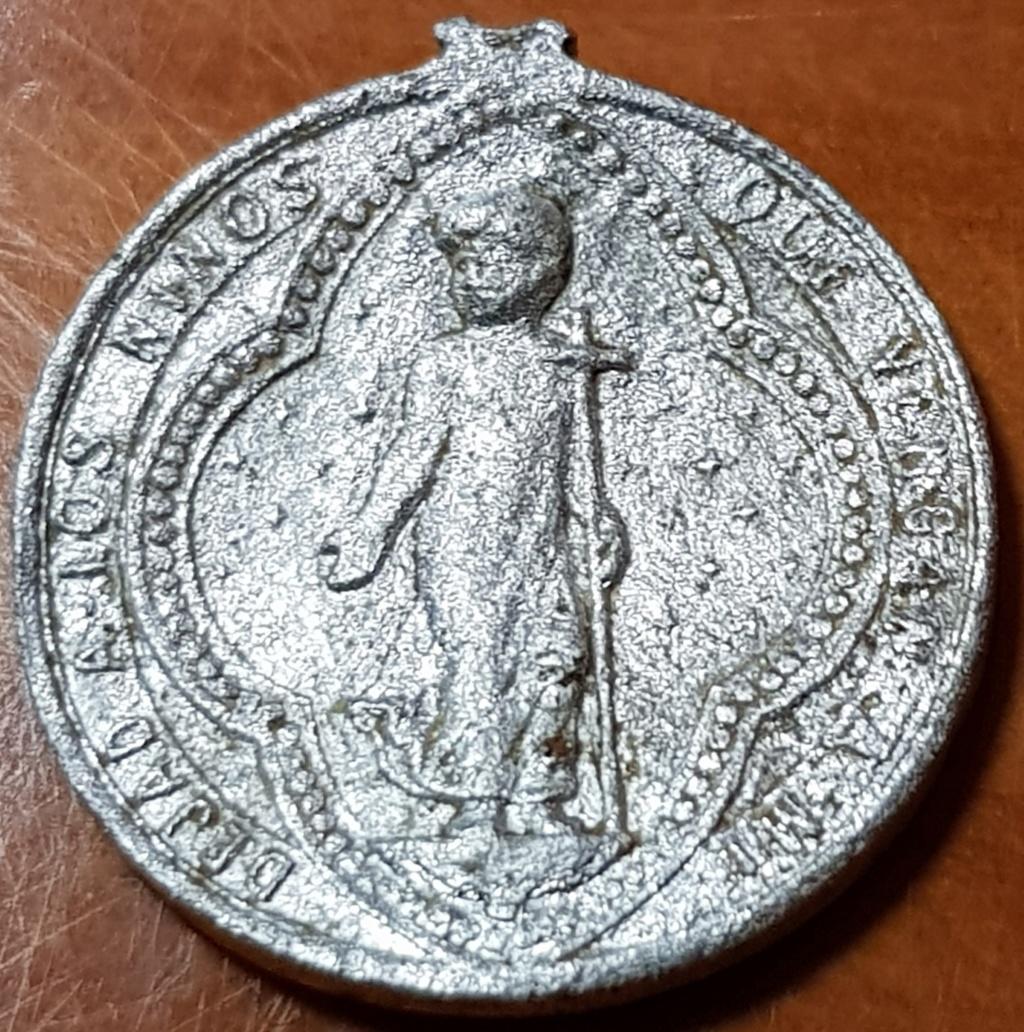 Niño Jesús con cruz / Virgen Inmaculada de la Medalla Milagrosa, S. XIX-XX 20200610