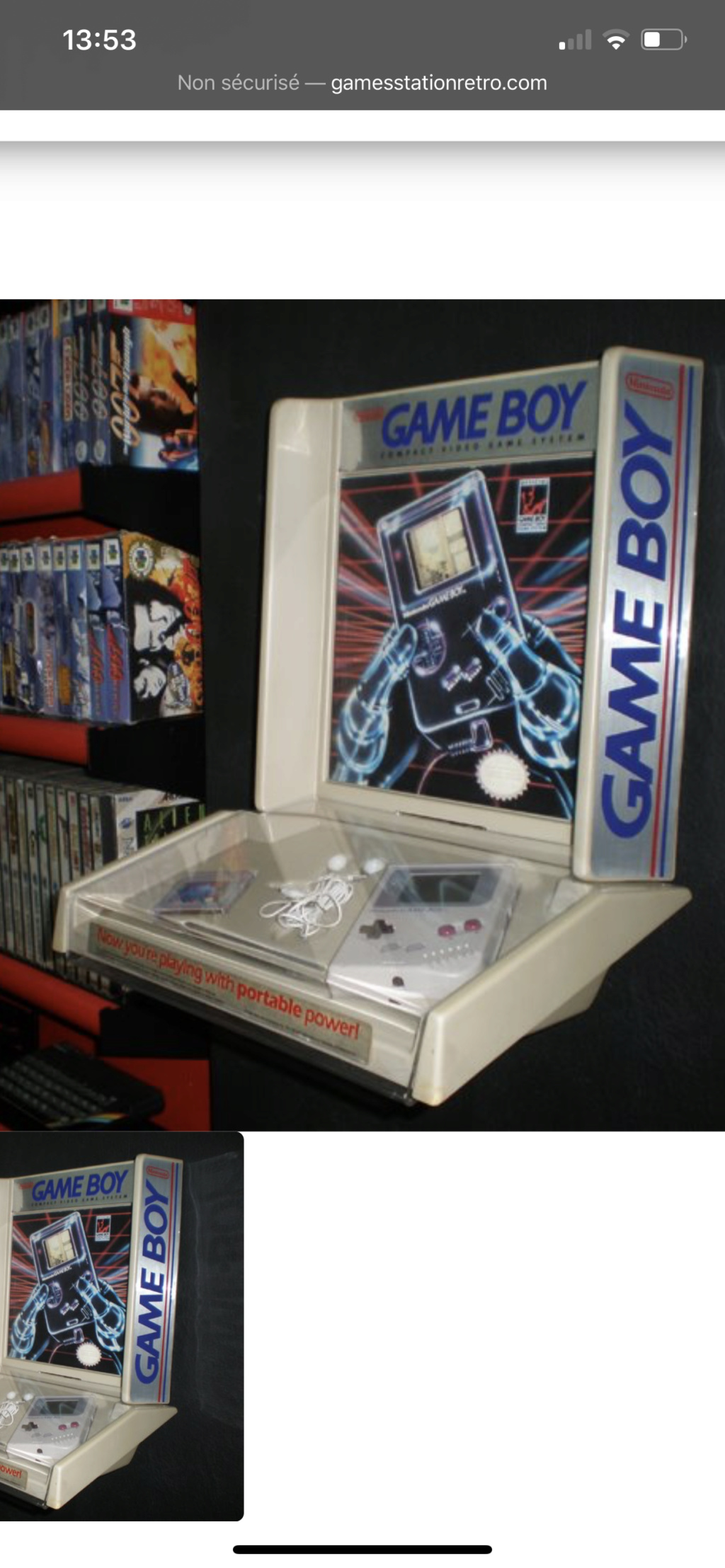 Borne Gameboy  Fc739510