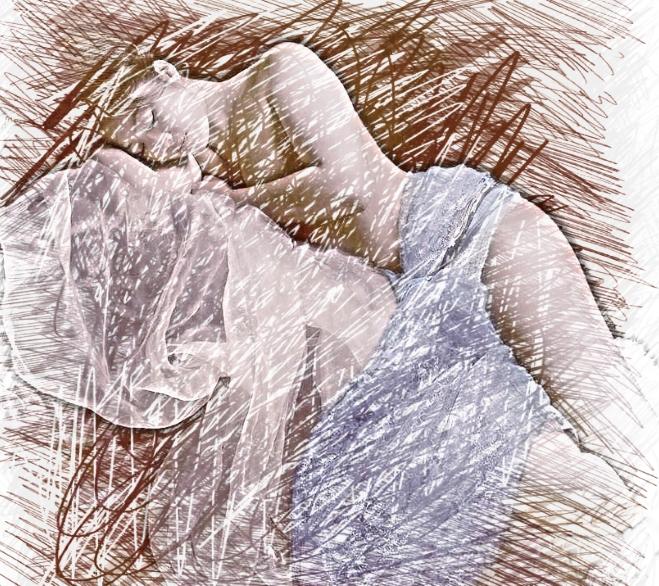 Vision du Promeneur ( la dormeuse) 73079110