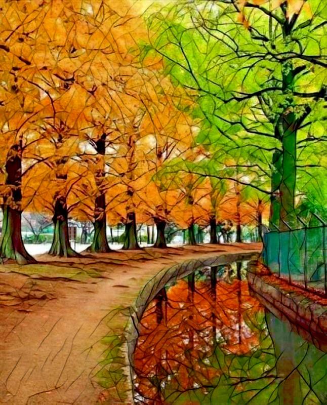 Jour d'automne Painnt10