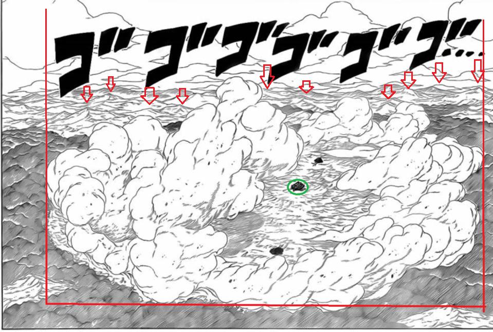Bijuudama padrão destruiria Konoha facilmente. St110