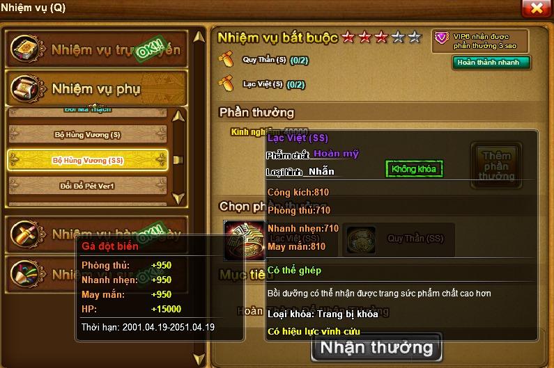 Bộ Vòng Nhẫn Hùng Vương Ra Đời GunnyDC 360 17424510