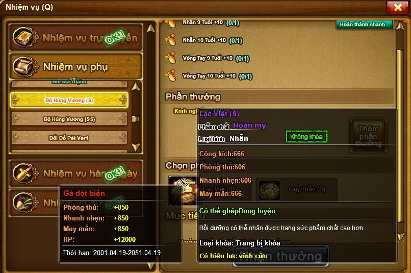 Bộ Vòng Nhẫn Hùng Vương Ra Đời GunnyDC 360 17603511