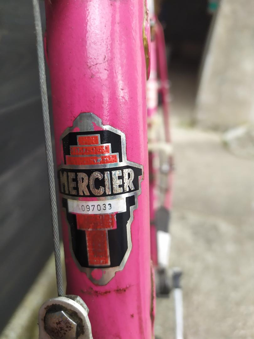 velo mercier rose N_seri10