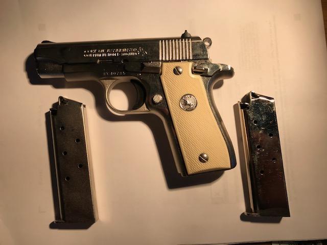 WTS-COLT GOVT MODEL 380 BRIGHT NICKLE, **PRICE REDUCTION** Colt_315