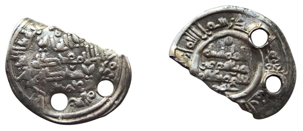 Dírham fraccionado de Hixam II, al-Ándalus, ¿391? H 835_1510