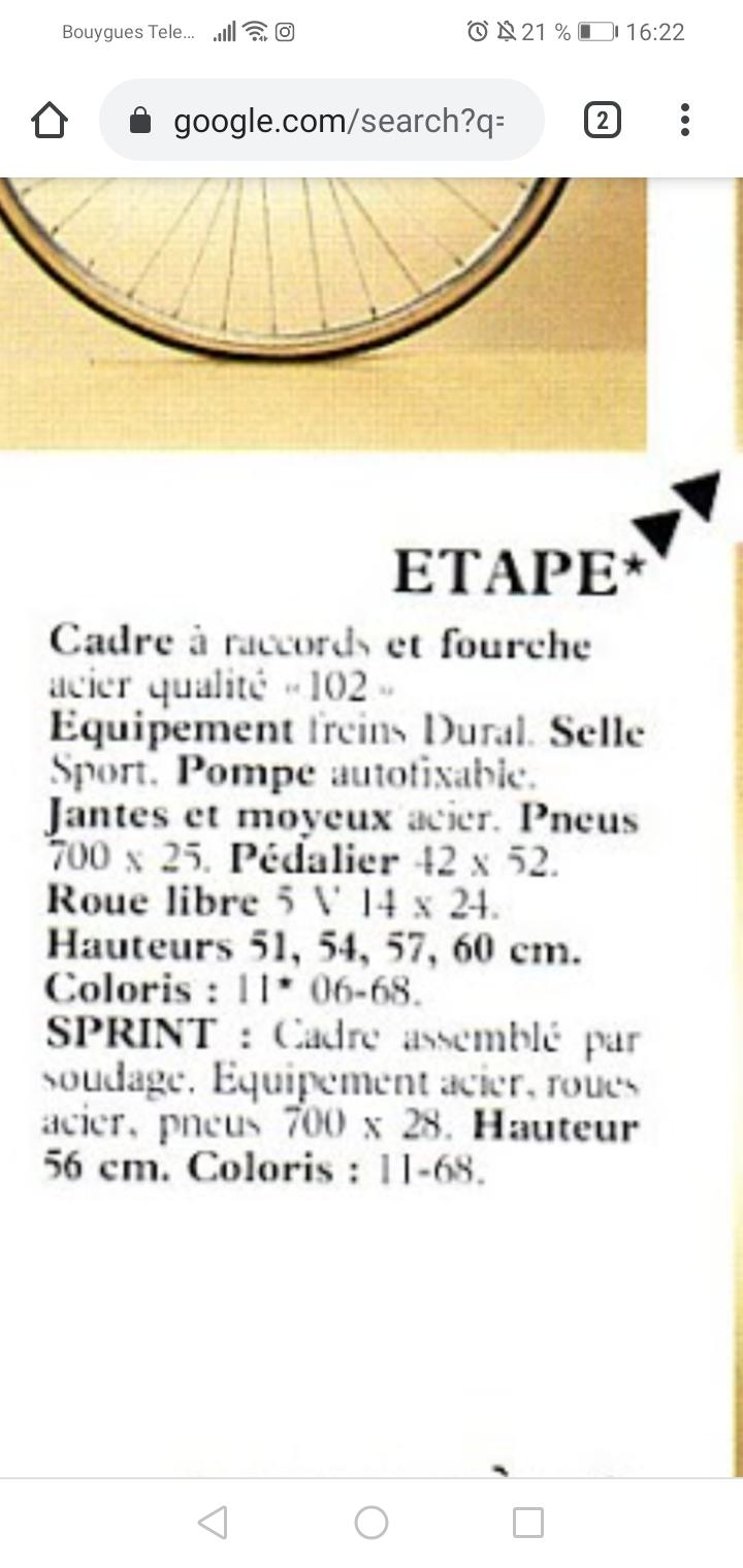 """Gitane """"étape""""  Screen13"""