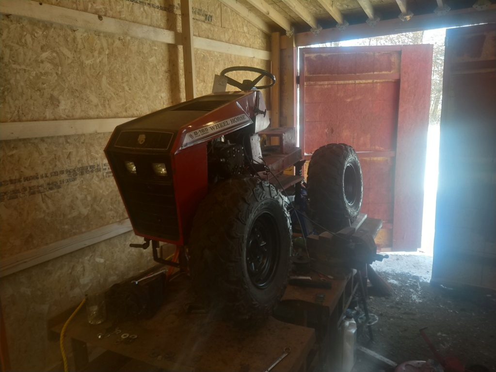 suspension - Wheel horse B165 - Full Suspension (work in progress) Img_2014