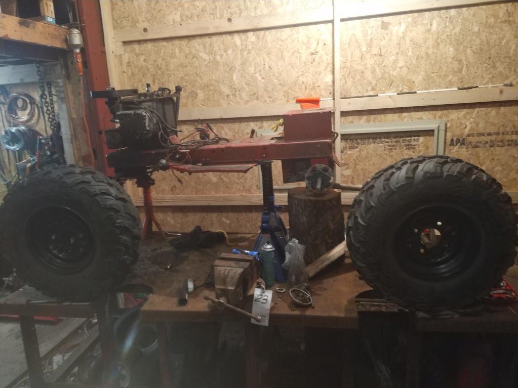 suspension - Wheel horse B165 - Full Suspension (work in progress) Img_2015