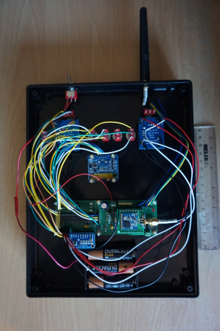 UHF radio control  for submarines (openLRS, LoRa, FSK  etc. on 458Mhz and 433Mhz ) - Page 10 Dsc02711