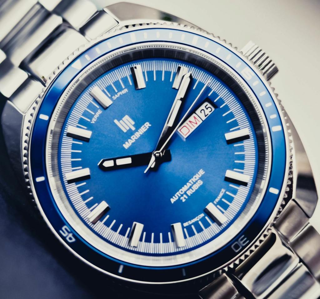 Lip Marinier Automatic 'Bleu' 4d714b10