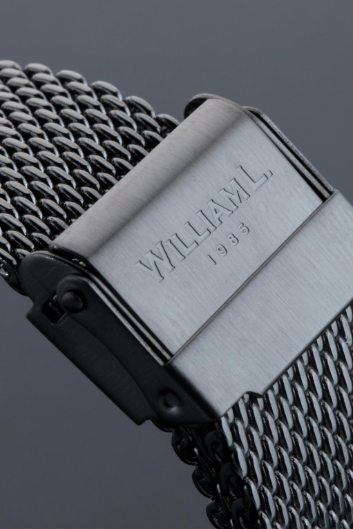 William L. Vintage Style Chronograph 'Milanese' Vintag14