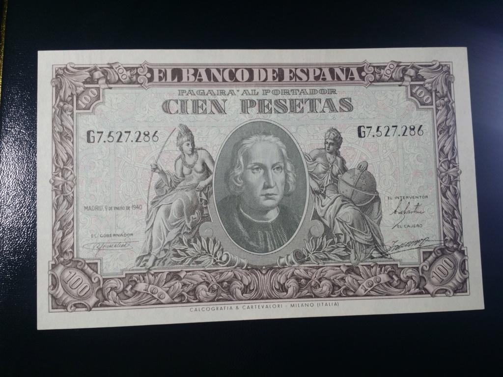 100 Pesetas 1940 ¿SC? 16161913