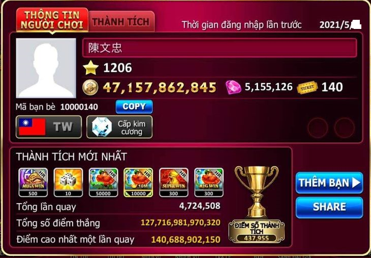 Siêu quá em xài hack Golden Hoyeah Slots đúng rất hay luôn nha 1235rg10